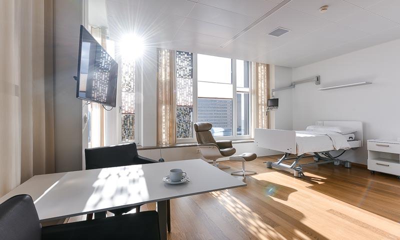 Beispiel eines Zimmers von ZURZACH Care Baden-Dättwil