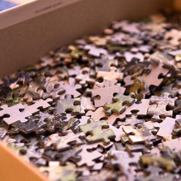 Puzzleteile für Ergotherapie